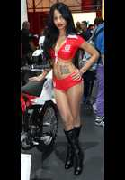 """Photo of publication """"Milan Bikeshow 2012 - Part 35"""", author Bootsman, Tags: [exhibitions, Italy, Milan, Milan Bike Show, exhibitions in 2012, events, motorcycle (bike), pantyhose (tights) skin color, pantyhose (tights) sheer, transparent]"""