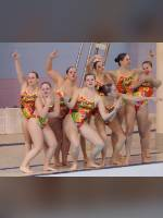 """Best 10"" competition ""November 2020, best photos of the month"": ""College Synchronized Swimming, McGill Invitational, Montr&#233;al, 15 November 2014"", author: proacguy1 (<a href=""https://www.fotoromantika.ru/#id=18823&imgid=152000"">photos in the publication</a>)"