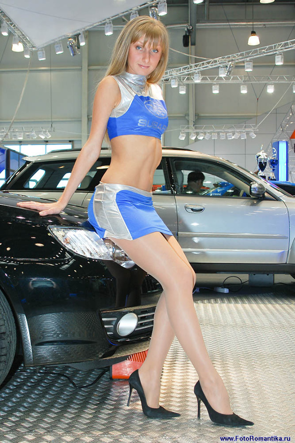 Sasha at the exhibition 4WD Salon :: Владимир