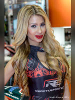 """Best 10"" competition ""November 2020, best photos of the month"": ""MCN Motorcycle Show 2015 - Reactive Parts promo girls"", author: Sacha Alleyne (<a href=""https://www.fotoromantika.ru/#id=18863&imgid=152179"">photos in the publication</a>)"