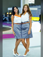 """photo from the publication """"MIAS-14. Hankook- 2."""", author Эдуард@fotovzglyad, Tags: [exhibitions, events of 2014, pantyhose (tights) skin color, Moscow International Motor Show, events, the Hankook girls, pantyhose (tights) sheer, transparent, car show]"""