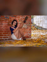 """""""Best 25"""" competition """"May 2021, best photos of the month"""": """"Pantyhosed legs spread"""", author: IGMAR PHOTO (<a href=""""https://www.fotoromantika.ru/#id=22009&imgid=173276"""">photos in the publication</a>)"""