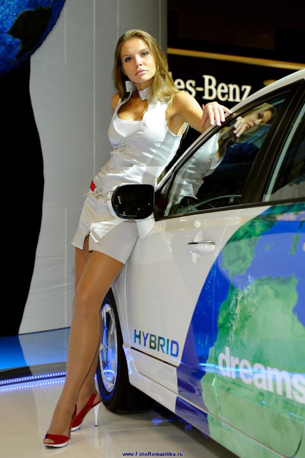 Moscow Motor Show 2008 - Oksana from stand Honda :: Эдуард@fotovzglyad