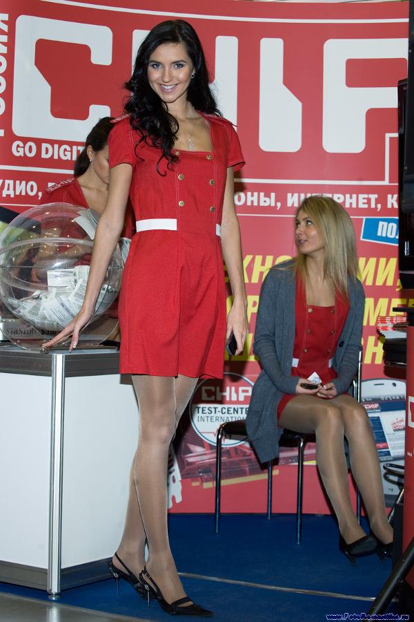 InfoCom'2008 - girls stand Chip :: Эдуард@fotovzglyad