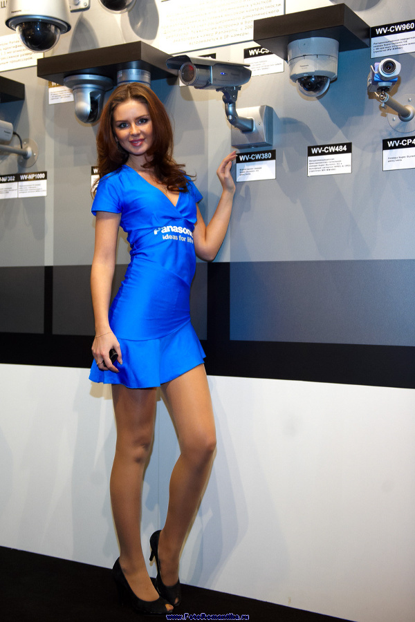 "Natasha Komarova at the exhibition ""Security and safety Technologies"" :: Эдуард@fotovzglyad"