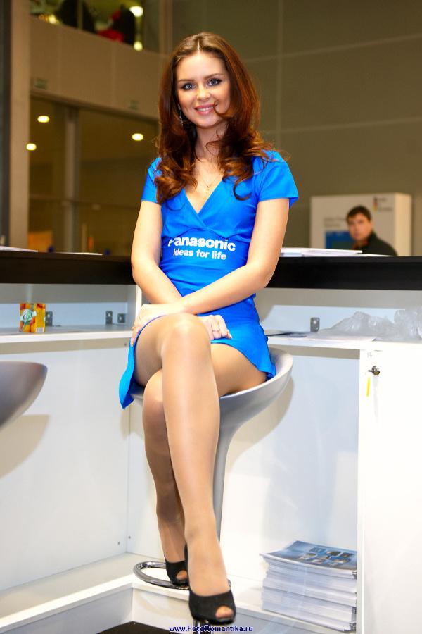 "Natasha Komarova at the exhibition ""Security and safety Technologies"" :: Эдуард@fotovzglyad"