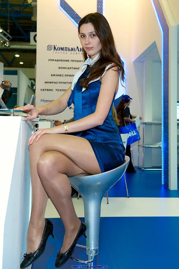 Natalia on the stand Compulink :: Эдуард@fotovzglyad