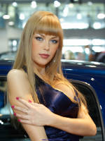 """photo from the publication """"Moscow Motor Show 2008 - Girls stand Hyundai"""", author Эдуард@fotovzglyad, Tags: [exhibitions, Nina Klinskaya, cleavage, Moscow International Motor Show, events of 2008, portrait, events, girls Hyundai, car show]"""