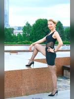 """""""Best 25"""" competition """"February 2020, best photos of the month"""": """"Sveta in Victory Park - little black dress 1"""", author: Kostya Romantikov (<a href=""""https://www.fotoromantika.ru/#id=18424&imgid=149075"""">photos in the publication</a>)"""