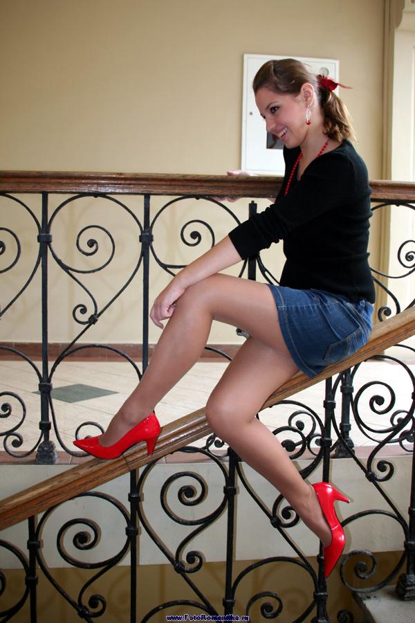 Arinka Sergeeva, the first photo shoot :: Kostya Romantikov