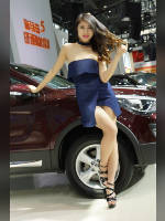 """Best 25"" competition ""March 2021, best photos of the month"": ""Car show girls 2017"", author: 弟弟 sun (<a href=""https://www.fotoromantika.ru/#id=21201&imgid=166946"">photos in the publication</a>)"