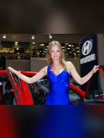 """photo from the publication """"Girls Hyundai (assorted)"""", author Сергей, Tags: [exhibitions, car, Interauto and MIMS, dress blue, events of 2007, Natalya (Natasha) Maksyukova, events, girls Hyundai, car show]"""