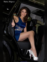 """photo from the publication """"MIAS 2012. Elsa."""", author Вовчик, Tags: [exhibitions, pantyhose (tights) skin color, Moscow International Motor Show, events of 2012, car, Elsa Imamova, events, car show]"""
