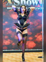 """photo from the publication """"XIV-XShow 18+. Part 2"""", author Эдуард@fotovzglyad, Tags: [exhibitions, stocking tops visible, stockings black, panties black, events, Go-Go dancing, X-Show / Eros, events of 2016]"""