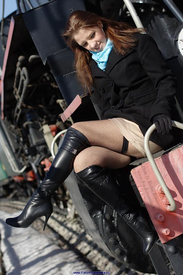 Arinc Sergeeva: Train! :) :: Kostya Romantikov