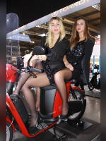 """""""Best 25"""" competition """"May 2021, best photos of the month"""": """"EICMA 2018 girl"""", author: themax2 (<a href=""""https://www.fotoromantika.ru/#id=22157&imgid=174710"""">photos in the publication</a>)"""