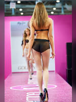 """photo from the publication """"Textillegprom- 15. Autumn. Show Part 7"""", author Эдуард@fotovzglyad, Tags: [exhibitions, defile, Textillegprom, pantyhose (tights) white, in lingerie, events, events of 2016, ]"""