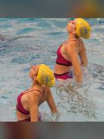"""Best 10"" competition ""November 2020, best photos of the month"": ""College Synchronized Swimming, John Abbott College, Montreal, 11 November 2012"", author: proacguy1 (<a href=""https://www.fotoromantika.ru/#id=18879&imgid=152260"">photos in the publication</a>)"