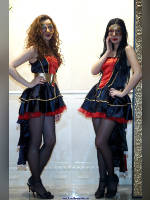 """photo from the publication """"Mosbuild-11. Kaleidoscope part 4"""", author Эдуард@fotovzglyad, Tags: [exhibitions, pantyhose (tights) black, stocking tops visible, stockings black, MosBuild, events of 2011, events]"""