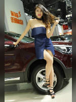 """Best 25"" competition ""March 2021, best photos of the month"": ""Car show girls 2017"", author: 弟弟 sun (<a href=""https://www.fotoromantika.ru/#id=21201&imgid=166955"">photos in the publication</a>)"