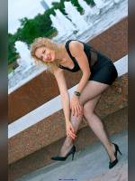 """""""Best 25"""" competition """"February 2020, best photos of the month"""": """"Sveta in Victory Park - little black dress 1"""", author: Kostya Romantikov (<a href=""""https://www.fotoromantika.ru/#id=18424&imgid=149066"""">photos in the publication</a>)"""