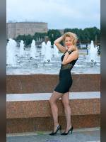 """""""Best 25"""" competition """"February 2020, best photos of the month"""": """"Sveta in Victory Park - little black dress 1"""", author: Kostya Romantikov (<a href=""""https://www.fotoromantika.ru/#id=18424&imgid=149064"""">photos in the publication</a>)"""