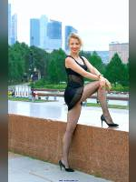 """""""Best 25"""" competition """"February 2020, best photos of the month"""": """"Sveta in Victory Park - little black dress 1"""", author: Kostya Romantikov (<a href=""""https://www.fotoromantika.ru/#id=18424&imgid=149076"""">photos in the publication</a>)"""