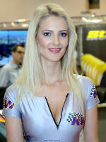"""photo from the publication """"Essen Motorshow 2014 - KW Hostesses"""", author Klaus, Tags: [exhibitions, cleavage, Germany, events, Essen, car show]"""