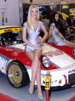 """photo from the publication """"Essen Motorshow 2014 - KW Hostesses"""", author Klaus, Tags: [exhibitions, pantyhose (tights) skin color, cleavage, car, Germany, events, Essen, car show]"""