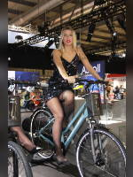 """""""Best 25"""" competition """"May 2021, best photos of the month"""": """"EICMA 2018 girl"""", author: themax2 (<a href=""""https://www.fotoromantika.ru/#id=22157&imgid=174700"""">photos in the publication</a>)"""