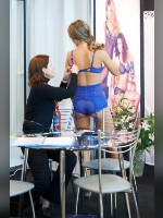 """photo from the publication """"Textillegprom-12. MASHA"""", author Эдуард@fotovzglyad, Tags: [exhibitions, events of 2012, Textillegprom, in lingerie, events, Maria (Masha) Vtyurina]"""