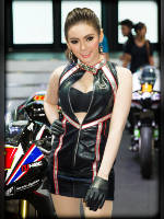 """3 place"" competition ""November 2020, best photos of the month"": ""Bangkok Motor Show 2015"", author: seua_yai (<a href=""https://www.fotoromantika.ru/#id=18873&imgid=152215"">photos in the publication</a>)"