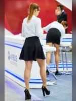 """photo from the publication """"HeliRussia- 2016. Part 3"""", author Эдуард@fotovzglyad, Tags: [exhibitions, pantyhose (tights) skin color, black skirt, short skirt (miniskirt), events, pantyhose (tights) sheer, transparent, events of 2016, HeliRussia - Helicopter Industry Exhibition]"""