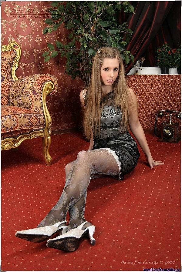 Anna Sinitskaya in the studio :: Санек