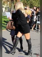 """photo from the publication """"PARIS 2017 """"Femmes sexy en cuissardes"""" by Angel-Dust"""", author Angel-Dust, Tags: [Paris, black boots, France, France, boots above the knee (jackboot), outdoor, outdoor, Europe, Europe]"""