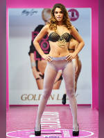 """photo from the publication """"Textillegprom- 15. Autumn. Show Part 1"""", author Эдуард@fotovzglyad, Tags: [exhibitions, defile, Textillegprom, in lingerie, events, pantyhose (tights) sheer, transparent, tights light-blue, events of 2016, ]"""
