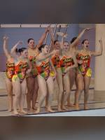 """Best 25"" competition ""November 2020, best photos of the month"": ""College Synchronized Swimming, McGill Invitational, Montr&#233;al, 15 November 2014"", author: proacguy1 (<a href=""https://www.fotoromantika.ru/#id=18823&imgid=151994"">photos in the publication</a>)"