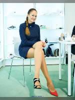 """автор: Эдуард@fotovzglyad, сюжет: """" Обувь экспо 2018. Кристина-2. """""""