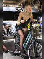 """""""Best 25"""" competition """"May 2021, best photos of the month"""": """"EICMA 2018 girl"""", author: themax2 (<a href=""""https://www.fotoromantika.ru/#id=22157&imgid=174702"""">photos in the publication</a>)"""