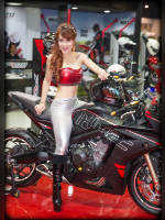 """Best 10"" competition ""November 2020, best photos of the month"": ""Bangkok Motor Show 2015"", author: seua_yai (<a href=""https://www.fotoromantika.ru/#id=18873&imgid=152212"">photos in the publication</a>)"