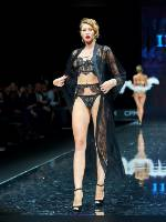 """photo from the publication """"CPM 2020 Spring. Grand defile. part 10"""", author Эдуард@fotovzglyad, Tags: [exhibitions, shoes black, heels, black bra, defile, , blonde, panties black, in lingerie, events, belt stockings, events of 2020]"""