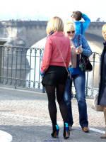"автор: Klaus, сюжет: ""Blonde babe in sexy high heels"""