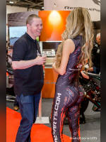 """Best 25"" competition ""November 2020, best photos of the month"": ""MCN Motorcycle Show 2015 - Reactive Parts promo girls"", author: Sacha Alleyne (<a href=""https://www.fotoromantika.ru/#id=18863&imgid=152183"">photos in the publication</a>)"