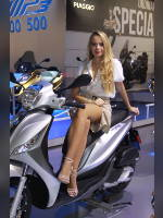 """""""Best 10"""" competition """"May 2021, best photos of the month"""": """"EICMA 2018 girl"""", author: themax2 (<a href=""""https://www.fotoromantika.ru/#id=22157&imgid=174698"""">photos in the publication</a>)"""