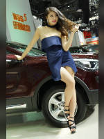 """Best 10"" competition ""March 2021, best photos of the month"": ""Car show girls 2017"", author: 弟弟 sun (<a href=""https://www.fotoromantika.ru/#id=21201&imgid=166948"">photos in the publication</a>)"