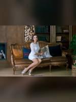 """3 place"" competition ""November 2019, best photos of the month"": ""Alenka in white"", author: Kostya Romantikov (<a href=""https://www.fotoromantika.ru/#id=18358&imgid=148433"">photos in the publication</a>)"
