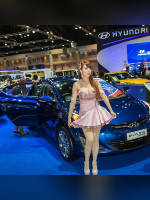 """1 place"" competition ""November 2020, best photos of the month"": ""Bangkok Motor Show 2015"", author: seua_yai (<a href=""https://www.fotoromantika.ru/#id=18873&imgid=152203"">photos in the publication</a>)"