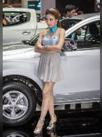 """1 place"" competition ""November 2020, best photos of the month"": ""Bangkok Motor Show 2015"", author: seua_yai (<a href=""https://www.fotoromantika.ru/#id=18873&imgid=152209"">photos in the publication</a>)"