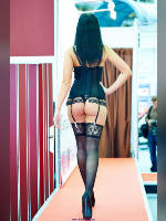 """photo from the publication """"Eros-14. show part 2"""", author Эдуард@fotovzglyad, Tags: [exhibitions, events of 2014, stocking tops visible, stockings black, in lingerie, stockings with belt, events, X-Show / Eros]"""