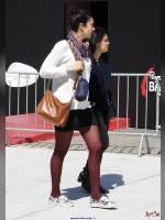 """photo from the publication """"PARIS 2016 """" Un jour tres ordinaire """" by Angel-Dust"""", author Angel-Dust, Tags: [Paris, Paris, France, France, outdoor, outdoor, short skirt (miniskirt), , La Défense, Europe, Europe]"""